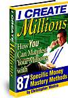 Wealth Creation - I create Millions